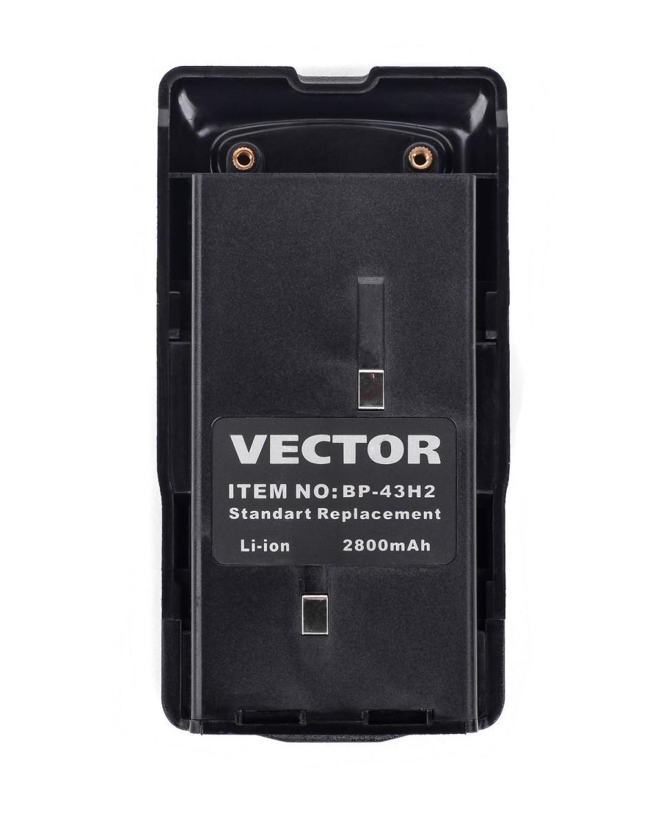 Аккумулятор Vector BP-43 H2