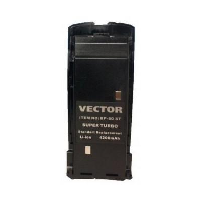 Штатный Li-Ion аккумулятор Vector BP-80 ST