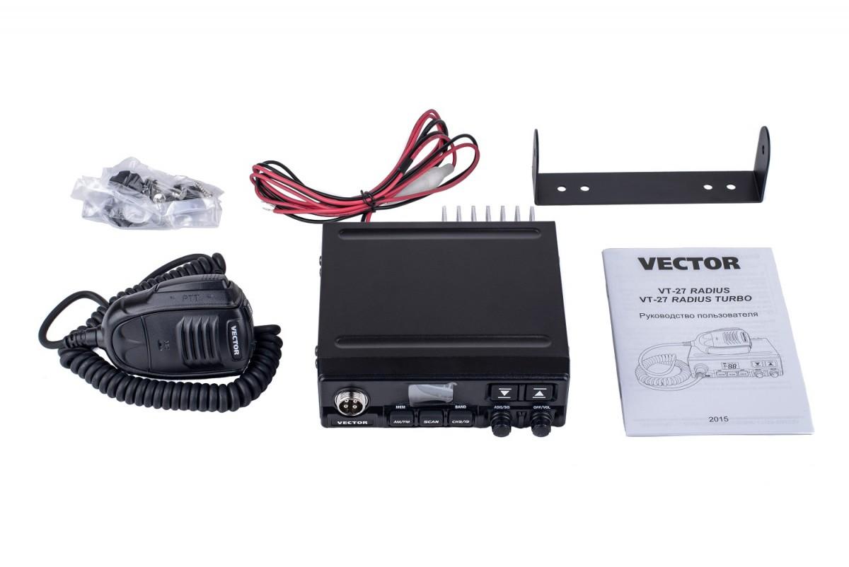 Рация Vector VT-27 Radius Turbo